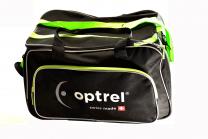 8000.110 e3000 Tasche grün mit optrel Logo