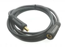 Verlängerungskabel  H01N2-D mit Kupplung und Dorn